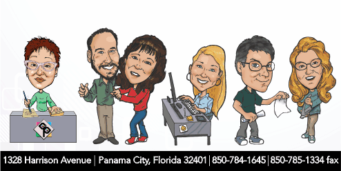 Creative Printing of Bay County, Panama City, Florida - Print Shop Employees