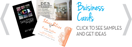 Creative Printing of Bay County, Panama City, Florida - Offset and Digital Print Products - Custom Business Cards