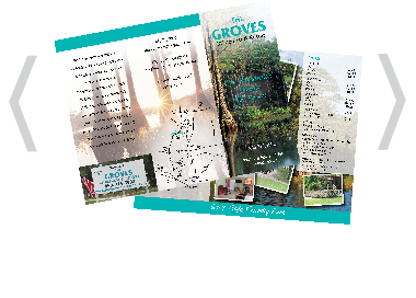 Creative Printing of Bay County, Panama City, Florida - Offset and Digital Printing - Custom Brochures
