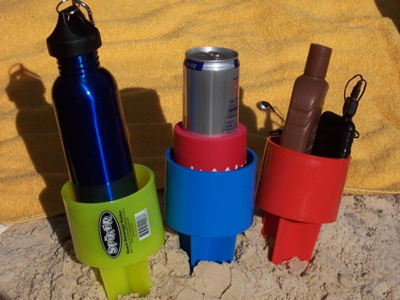 Beach Spike Cup Holders - Creative Promotional Items