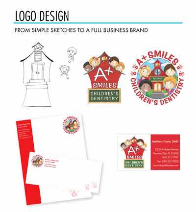 Creative Graphic Design - Logo - A+ Smiles