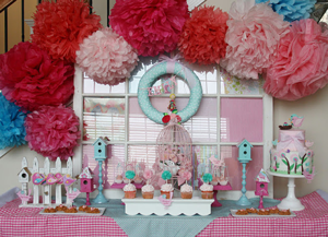 Creative Printing of Bay County - Panama City, Florida - Baby Bird Baby Shower Theme