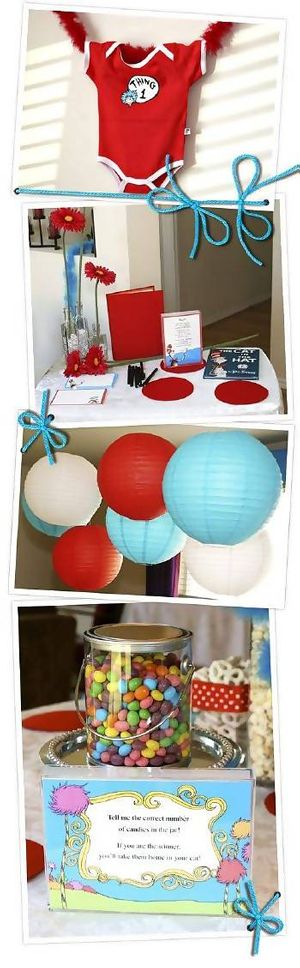 Creative Printing of Bay County - Panama City, Florida - Dr.Seuss Baby Shower Theme