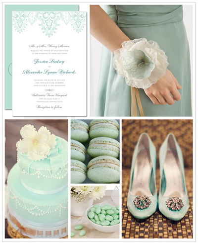Creative Printing of Bay County - Panama City, Florida - Mint Wedding