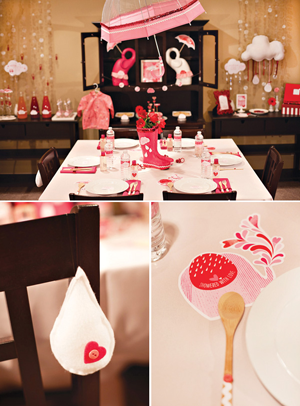 Creative Printing of Bay County - Panama City, Florida - Showered with Love Baby Shower Theme