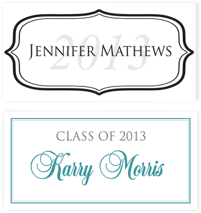 Graduation is coming soon custom invitations get creative blog custom graduation name cards creative printing of bay county filmwisefo