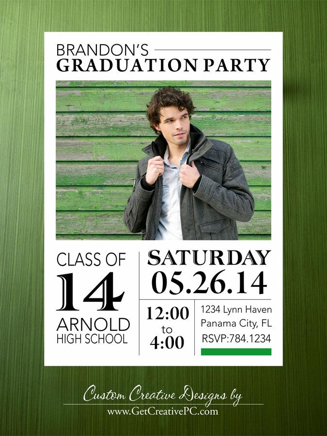 We Print Custom Graduation Announcements Get Creative Blog – Graduation Announcements and Invitations