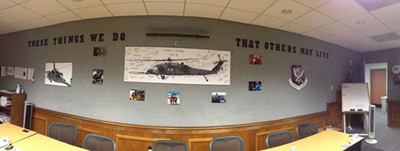 Posters at Tyndall Air Force Base- Panama City, FL