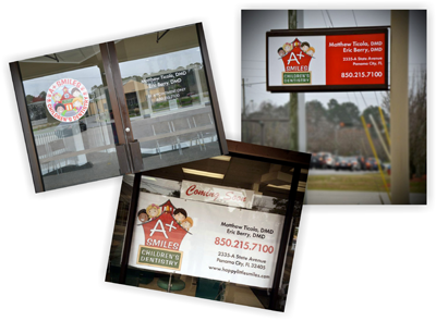 Signage and Banners - Graphic Design - Creative Printing