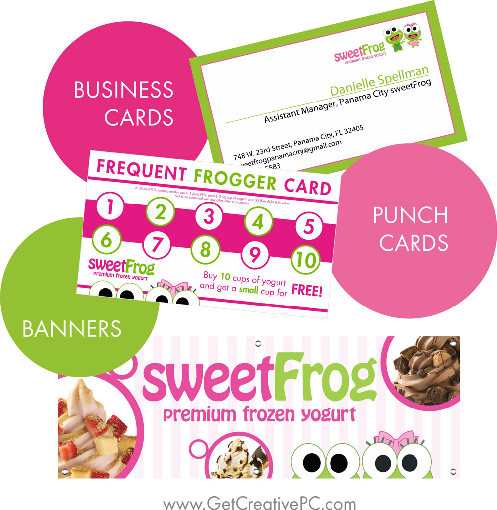 Small Business Spotlight - Sweet Frog of Panama City, FL - Get ...