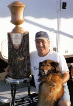 Byron Chism And His Dog Jake - 2005 Grand Champion