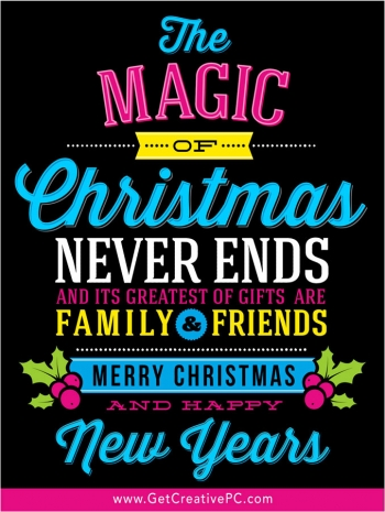 The Magic Of Christmas - Christmas Eve In Bay County - Creative Printing - Panama City, Florida