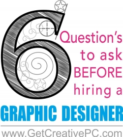 Graphic Designer - Questions to Ask - Creative Printing of Bay County - Panama City, FL