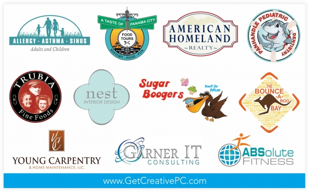 Logo Design - Graphic Design - Creative Printing - Panama City, Florida