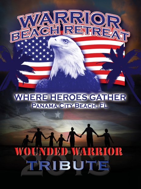 Wounded Warrior Beach Retreat - Book Cover - Panama City Beach, FL