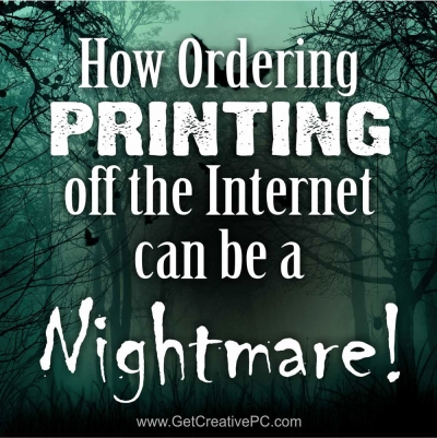 Ordering Printing off the Internet - Nightmare - Creative Printing of Bay County - Panama City